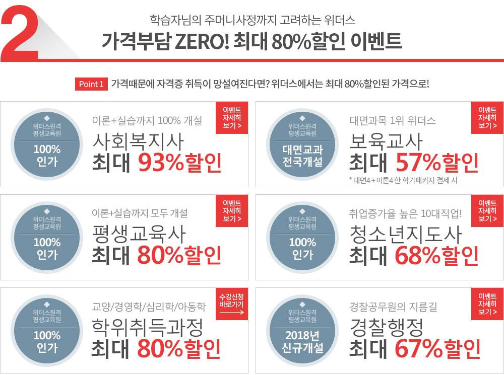 가격부담 ZERO! 최대 61%할인 이벤트